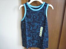 PEANUT & OLLIE BOY'S MARITIME BLUE 5T TANK TOP~~~NEW WITH FREE SHIPPING@@@