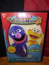Sesame Street: Grover's Popcorn Stand (PVD, VideoNowJr) PlaySkool VideoNow