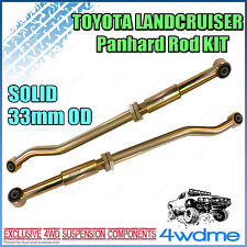 Fits Toyota Landcruiser 80 105 Series Adjustable Front & Rear HD Panhard Rods