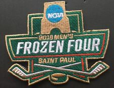 2018 MEN'S FROZEN FOUR PATCH JERSEY STYLE FULL COLOR EMBROIDERY NHL CHAMPIONS!!