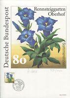 PHILARTES-EDITION 1991 BUND 1507 RENNSTEIGGARTEN OBERHOF RARE!! z1262