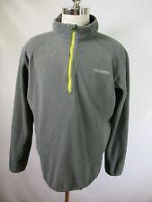 F2988 Columbia Men's 1/4 Zip Omni-heat Fleece Pullover Size XL