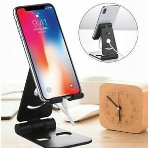 Universal Adjustable Tablet Mobile Phone Holder Stand Desk Swivel Foldable Tools