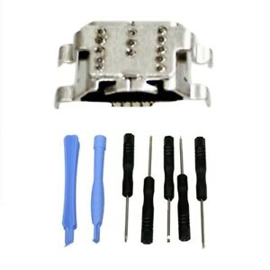 USB Charging Port Data Jack Repair Kit for Amazon Fire HD 10 SL056ZE 7th Gen