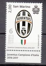 NUOVO + APPENDICE SAN MARINO Juventus CAMPIONE D'ITALIA  2016 - 2017 6° SCUDETTO