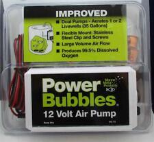 Marine Metal B15 Power Bubbles Air Pump Aerator 22337