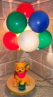 Vintage Winnie The Pooh Bear Honey Home Nursery Balloon Lamp 1973 Working Tested