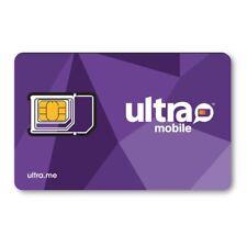 Ultra Mobile Nano SIM card for Samsung S8 & S8 Plus