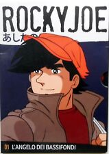 ROCKY JOE N.1 L ANGELO DEI BASSI FONDI DVD  ANIME CORRIERE GAZZETTA