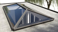 ROOF LANTERN SKYLIGHT ALUMINIUM INC GLASS GREY/WHITE 1500mm x 3000mm
