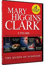 MARY HIGGINS CLARK: 5 FILMS - DVD - Sealed Region 1