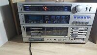 Soundesign 5960 Cassette Am/Fm Tuner Reciever Bright Multicolor Light Display