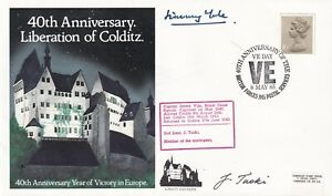 40th Anniv of Liberation of Colditz signed by inmates J Yule, J Tucki  ( polish