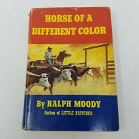 Horse of a Different Color Ralph Moody (1968, Stated First Edition, 1st, HC DJ)