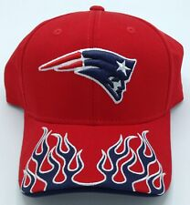 NFL New England Patriots Reebok Adult Structured Flames Adjustable Fit Cap  NEW! b68846f8e