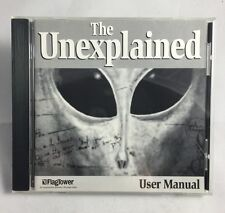 """NEW """" THE UNEXPLAINED """" PC Vintage Software UFO Mystery Aliens Ghosts Info CD"""