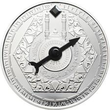 Niger 2012 1,000 Francs CFA Mecca Compass 2012 50g Silver Proof Coin