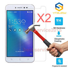 2Pcs 9H Tempered Glass Cover Film Screen Protector For ASUS ZenFone Live ZB501KL
