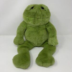 "Lou Rankin Friends Happy Herbert Frog Green Plush Stuffed Animal 17"""