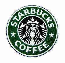 Starbucks Coffee Logo Embroidered Iron On Patch 3""