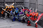 Transformers Action Figures Kids Toys Optimus Prime Ironhide Bumble Bee Dinobots