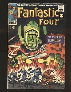 Fantastic Four # 49 - 2nd Silver Surfer & Galactus VG Cond.