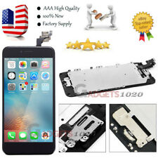 LCD Display Touch Screen Digitizer Assembly Replacement Button for iPhone 6 Plus