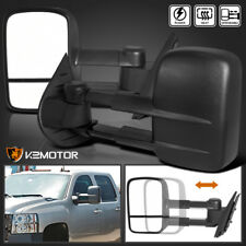 2007-2014 Silverado Sierra POWER+HEATED Towing Tow Side Mirrors Left+Right