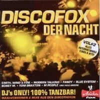 DISCO-FOX DER NACHT VOL.2 CD NEU MIT MODERN TALKING, BLUE SYSTEM, FANCY UVM.