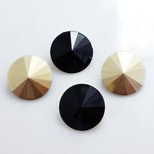 New 50PCS Resin Rhinestones Rivoli Beads 14mm DIY wholesale