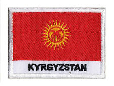 Badge Flag Patch Patch Sew-On Kyrgayzstan 70 X 45 MM Country World