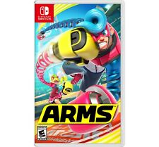 Arms (Nintendo Switch, 2017) Video Game, Sealed