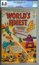 WORLD'S FINEST COMICS #134 CGC 8.0 OW/WH PAGES