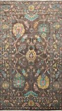 Authentic Oushak Turkish Oriental Area Rug Vegetable Dye Hand-knotted WOOL 6'x9'