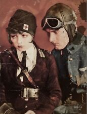 "+PC-Postcard-""Military Nurse and The Pilot"" (B343)"