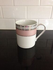 RALPH LAUREN SILK RIBBON PINK Fine China Mug