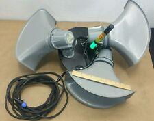 AtlasSoundolier 9714034 (3) Loudspeaker Horns APC-30T w/ Junction Box & Mounting