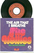 THE HOLLIES - THE AIR THAT I BREATHE -  7''  YUGOSLAV COVER 1974