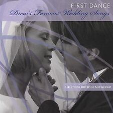 Drew's Famous First Dance: Selections For Bride And Groom - NEW CD - 15 SONGS