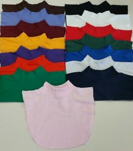 Mock Neck Dickies. Dickey, Neck Warmer, One Size Fits Most. Cotton. Made in USA.