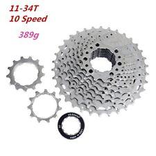 VG Sports 11-34T 10 Speed Bicycle Freewheel MTB Mountain Bike Cassette Cogs 389g