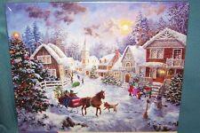 """Springbok 1000 Piece """"Night Before Christmas"""" Jigsaw Puzzle 2007 Nicky Boehme"""