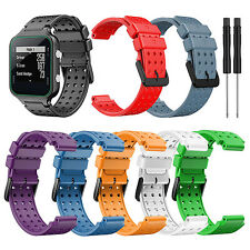 For Garmin Approach S20 Watch Silicone Watch Band Strap Bracelet Belt with Tools