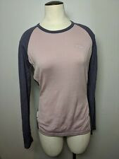 Icebreaker Bodyfit 260 Women's Small Purple Merino Baselayer Shirt
