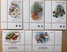 Burkina Faso- 1998 Christmas Stamp Set of 5 MNH