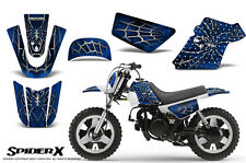 YAMAHA PW50 CREATORX GRAPHICS KIT DECALS SPIDERX BLUE