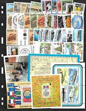 SOLOMON ISL. - SMALL LOT ON 4 PAGES - MOST SETS MNH. Sc $250+