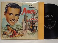 "VIC DAMONE Amor ULTRA RARE 10"" 1953 DG MERCURY MONO LP Sugar--The Breeze and I"
