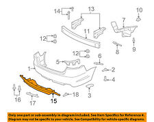 Pontiac GM OEM 08-09 G8 Rear Bumper-Insert Panel 92205629