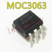 100PCS MOC3063 DIP-6 Driver Output Optocoupler IC